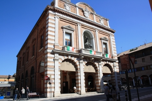 Cesena: the city of the three Popes